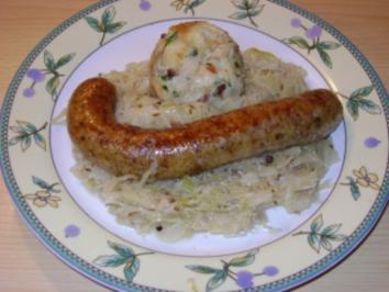 Orginal Steirische Erdäpfelwurst made by chefinmaria - Rezept