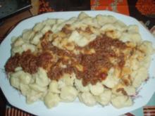 Kartoffel - Gnocchi mit Bolognese - Sauce - Rezept