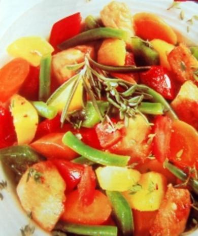 Geflügel Gemüse Topf - Rezept