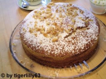 Gold- und Silberkuchen - Rezept
