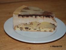 Birnen-Mokka Torte - Rezept