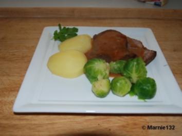 Rinderbraten aus dem Backofen - Rezept