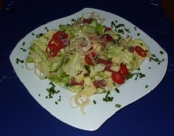 Herzhafter Feinschmecker-Salat - Rezept