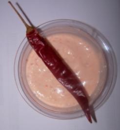 Joghurt-chili-Dip - Rezept