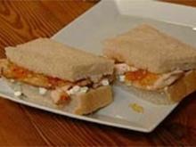 Sandwiches mit Hüttenkäse, Hühnerbrust und Apfelchutney - Rezept - Bild Nr. 9