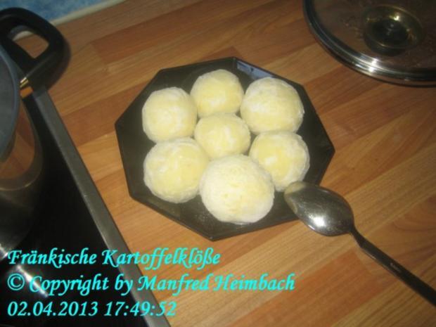 Fränkisch - Fränkische Kartoffelklösse - Rezept - kochbar.de