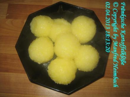 Fränkisch - Fränkische Kartoffelklösse - Rezept