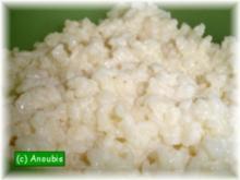 Hauptgericht süss - Rosen-Milchreis - Rezept
