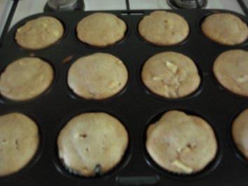 backe, backe Apfel-Marzipan-Muffins - Rezept