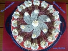 Torte: Drachenfrucht-Quarksahnetorte - Rezept