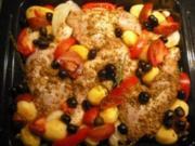 Und noch mal Hühnchen - Gyrosart - Rezept