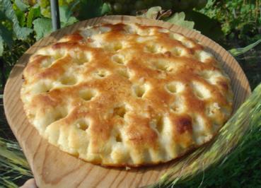 Mont Vully Kuchen - pikant - Rezept