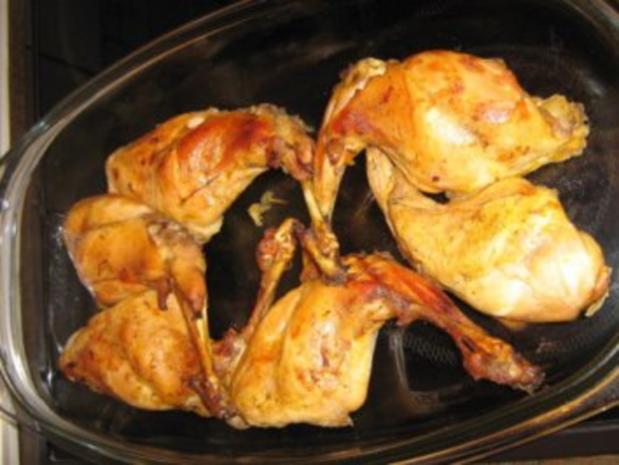 Kaninchenkeulen aus dem Ofen - Rezept - Bild Nr. 2