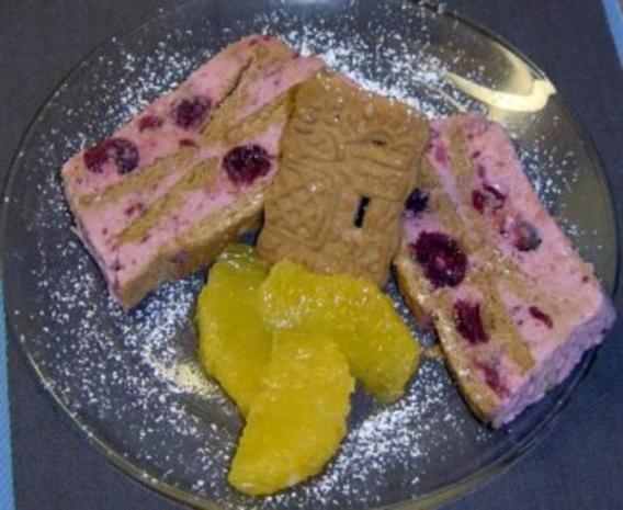 Glühwein-Spekulatius-Dessert - Rezept
