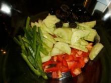 Spaghetti-Salat mediterran - Rezept