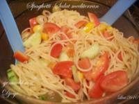 Spaghetti-Salat mediterran - Rezept - Bild Nr. 6