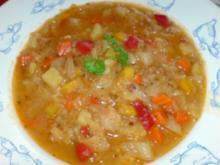 Eintopf: Weißkohl-Gemüsetopf - Rezept