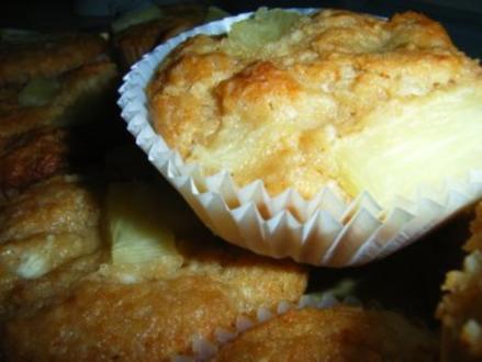 Muffins: Ananas-Kokos-Törtchen - Rezept