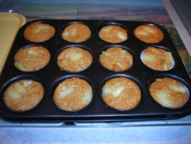 Muffins: Ananas-Kokos-Törtchen - Rezept - Bild Nr. 7