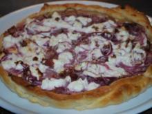 Ziegenkäse-Zwiebel-Tarte - Rezept