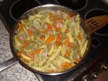 Maultaschen im Gemüsebeet - Rezept
