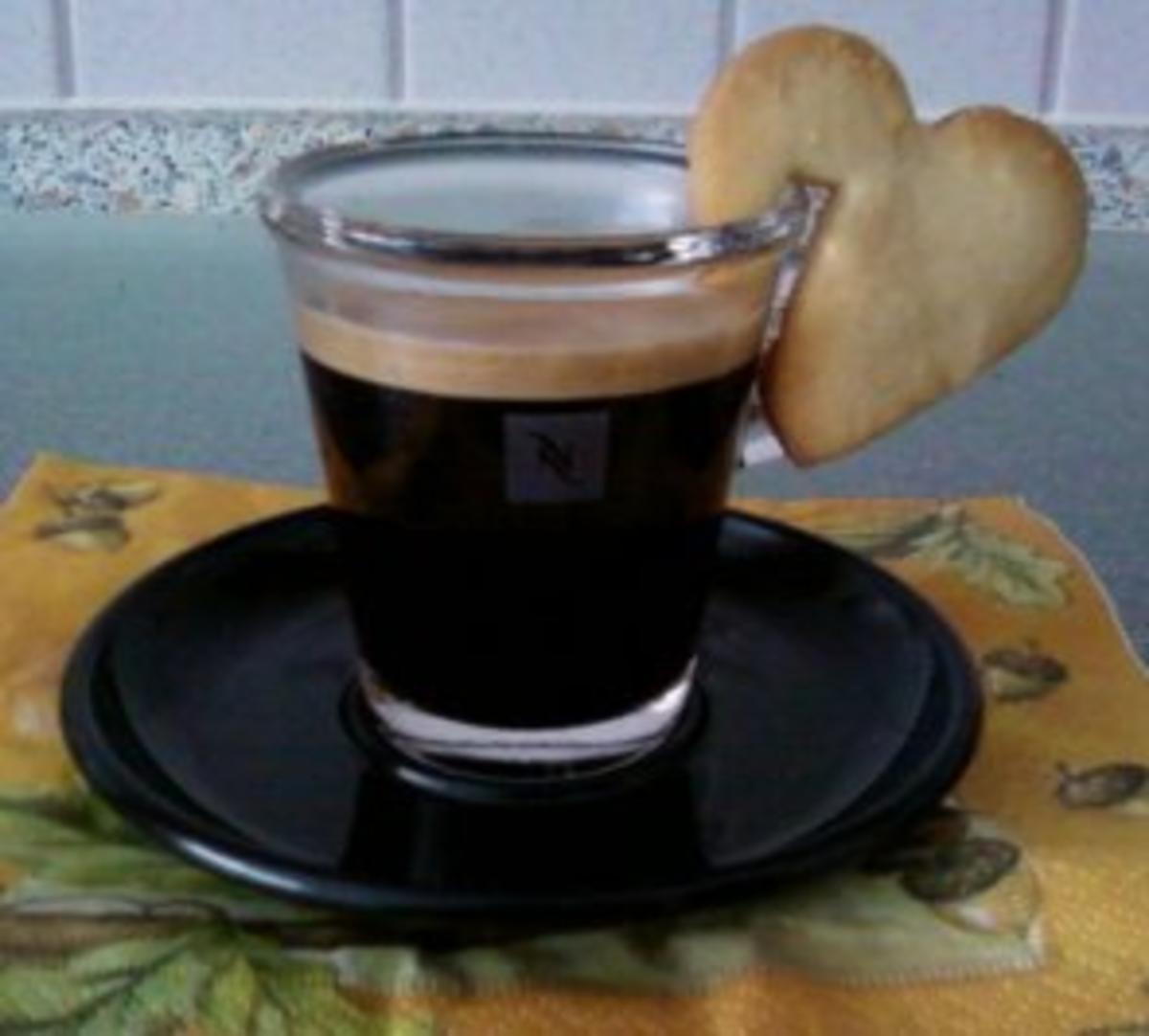 kaffee guetzli rezept