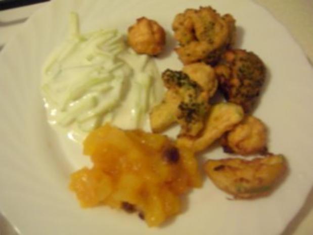 Gemüse-Pakoras...fritiertes Gemüse - Rezept