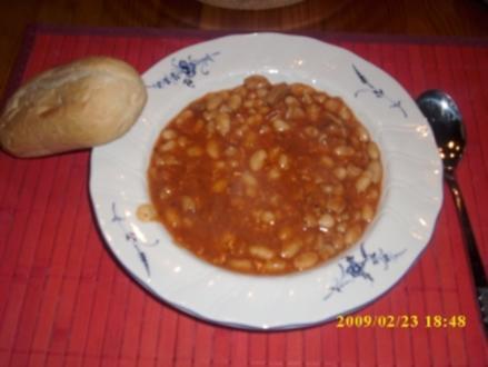 Serbische Bohnen - Rezept