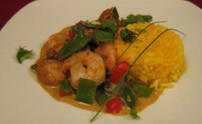 Rotes Thaicurry - Rezept