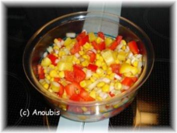 Salat - Mais-Paprika-Salat - Rezept