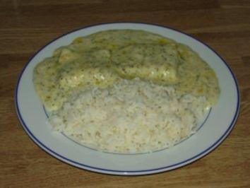 Rezept: Fisch in Dillsoße