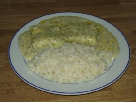 Fisch in Dillsoße - Rezept