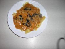 Sardellen - Kaviar - Sauce mit Bandnudeln - Rezept