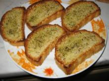 Geröstetes Brot - Rezept