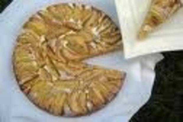 Apfel Tarte - Rezept