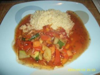 Gemüse - Couscous - Rezept