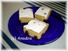 Kuchen/Gebäck - Blechkuchen mit Sauerkirschen - Rezept