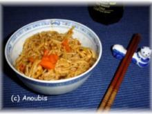 Geflügelgericht - Asia-Nudeln - Rezept