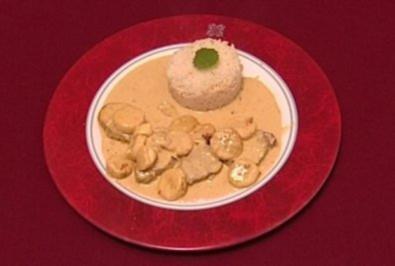 Bibi di Bananacurry mit Reis (Susen Tiedtke) - Rezept