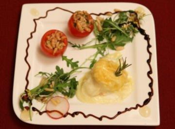 Tomate Crevettes mit Ziegenkäse (Ricky) - Rezept
