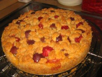 Backwaren: Bunter Fruchtstreusel! - Rezept