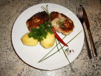 Kräuter-Quark-Buletten - Rezept