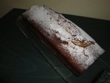 Espresso-Cake mit Cognac-Pflaumen - Rezept