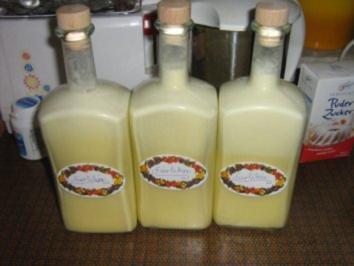 Rosas Eierlikör - Rezept