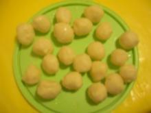 weiße Prosecco-Trüffel - Rezept