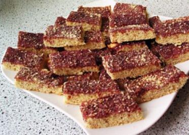 Kekse: Nuss- Stangen - Rezept