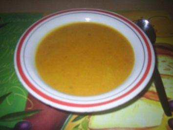 Rezept: Suppe - Kürbissuppe