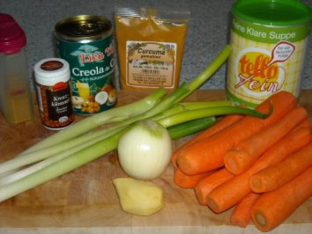 Karotten-Ingwer-Suppe oder Pasta-Sauce - Rezept - Bild Nr. 3
