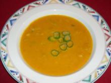 Karotten-Ingwer-Suppe oder Pasta-Sauce - Rezept
