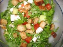 Mein Rucola-Salat - Rezept